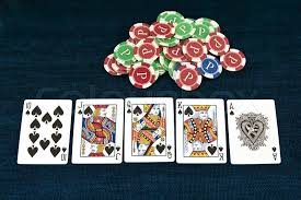 royal flush bandar poker